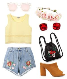 """""""Untitled #2"""" by niyafashion on Polyvore featuring House of Holland, Quay, Forever 21, Miss Selfridge and Monki"""