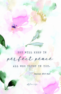Dear Lord, give us the grace to find peace in our own lives, so that we may share that peace with others.