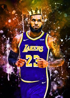 Lebron James Championship, Lebron James Lakers, Lakers Kobe Bryant, Lebron James Wallpapers, Nba Wallpapers, Lebron James Poster, Basketball Mom, Football Art, Basketball Players