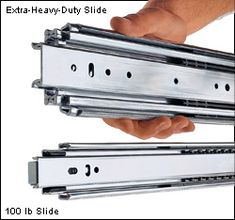 Extra-Heavy-Duty Slides - Hardware, could possibly use for the outside shed barn doors Off Road Camper Trailer, Camper Trailers, Travel Trailers, Truck Camping, Camping Gear, Camping Outdoors, Camping Essentials, Camping Hacks, Motorhome