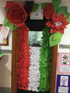 Kuwait national day Kuwait National Day, Liberation Day, School Doors, Art Projects, Kindergarten, Teacher, Math, My Love, Diy