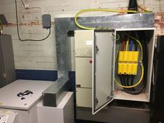 Voltage Optimiser installation @showroomcinemasheffield . #voltage #optimisationis an #energy #saving #technology that is used to #regulate, #clean and #condition the #incoming #power #supply in #order to #reduce the#voltage#supplied to the #optimum #level for the on-site #electrical #equipment and #appliances. . @newphaseled #sheffield #showroomcinema . #electrician  📩 info@newphaseled.co.uk ☎️ 0114 281 3692 http://newphaseled.com
