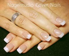 #acrylic #nails #frenchmanicure #nagelstudio #covernails #white #zoetermeer #bride #weddingnails