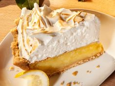 The filling in this lemon meringue pie is beautifully creamy. Not too sweet, not too tart. Pile the meringue high for an added wow factor.