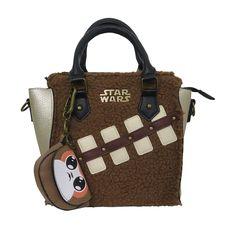 Star Wars Last Jedi Chewie & Porg Women's Mini Handbag Disney Handbags, Mini Handbags, Big Teddy Bear, Star Wars Love, Star Wars Merchandise, Last Jedi, Chewbacca, Fashion Handbags, Pouch