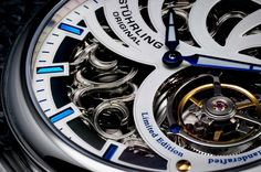 Enjoy the added #24hours today as we welcome the #leapyear! #tourbillon #watch by stuhrlingwatch
