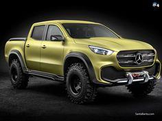 Foto: Mercedes Benz X Class Pickup Concept