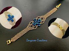 Beaded Bracelets Tutorial, Diy Bracelets Easy, Bead Loom Bracelets, Necklace Tutorial, Beaded Earrings Patterns, Beaded Jewelry Designs, Bracelet Patterns, Beaded Necklace, Creations