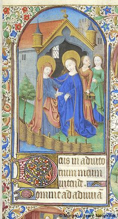 Book of Hours, MS M.1003 fol. 61r - Images from Medieval and Renaissance Manuscripts - The Morgan Library & Museum