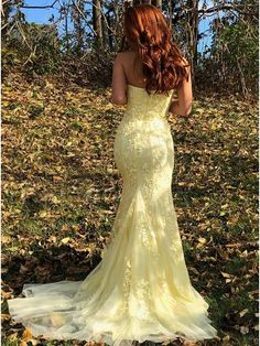 Lace Applique Prom Dresses,Yellow Prom Dresses,Fashion Dresses For from cloversew - Lace Applique Prom Dresses,Yellow Prom Dresses,Fashion Dresses For · cloversew · Online Store Powered by Storenvy Source by cloversews - Prom Dresses Blue, Mermaid Prom Dresses, Cheap Prom Dresses, Formal Dresses, Wedding Dresses, Dress Prom, Elegant Dresses, Lace Wedding, Affordable Prom Dresses