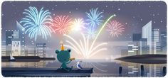Froggy the weather frog finds the New Year's Eve fireworks ribbitting. Happy New Years Eve, Happy New Year 2020, Gold Party, Google Weather, New Years Eve Events, New Year's Eve 2019, New Years Eve Fireworks, Federal Holiday, Party Set