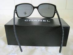 c070d3c884 CHANEL SQUARE QUILTING - WOMENS BLACK SUNGLASSES - 5289Q C501 S4. Style