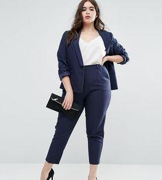 Stylish Plus-Size Fashion Ideas – Designer Fashion Tips Blazer Plus Size, Plus Size Suits, Look Plus Size, Plus Size Dresses, Work Dresses, Dressy Dresses, Plus Size Work, Summer Dresses, Casual Work Outfits