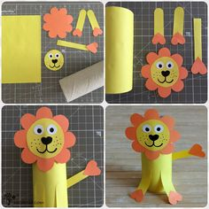Cardboard Tube Crafts, Toilet Paper Roll Crafts, Paper Crafts For Kids, Easy Crafts For Kids, Craft Activities For Kids, Easy Diy Crafts, Diy Arts And Crafts, Toddler Crafts, Preschool Crafts