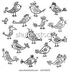 Arte e grafica vettoriale d'archivio di Uccelli Volo   Shutterstock
