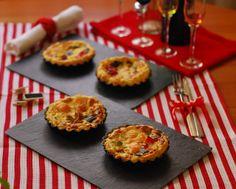 Tartaletas de salmón y verduritas. | Cuchillito y Tenedor