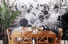 Mural, removable wallpaper