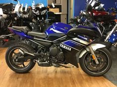 Used 2013 Yamaha FZ6R Motorcycles For Sale in New Jersey,NJ. 2013 Yamaha FZ6R, CALL HENRY @ (732)906-9292 EXT 1046 2013 Yamaha® FZ6R Hardcore. Not hard to afford. The FZ6R offers features that make it easy for beginning riders to get started: a low seat height, grips that reach back to you, and a torquey, 600cc engine you won´t outgrow anytime soon. Add a beautiful diamond-steel frame, a sleek fairing, an R6-style exhaust and a price that makes it way more affordable than it looks, and it…