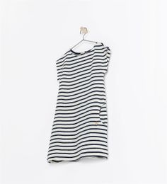 Image 1 of STRIPED SHIRT WITH ANCHOR APPLIQUÉ from Zara