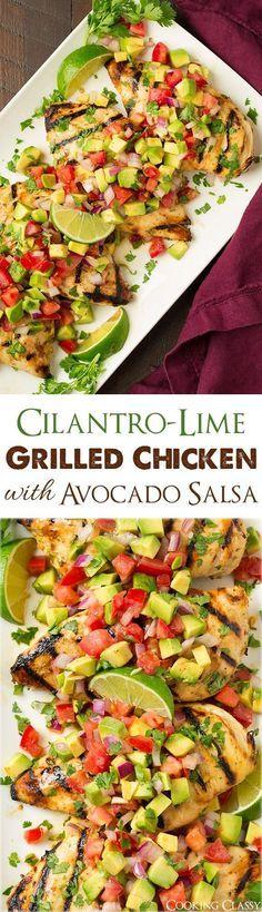 Grilled Cilantro Lim