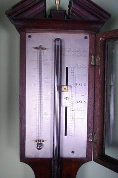 Geogian stick barometer
