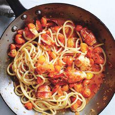 Spicy Lobster Pasta Recipe