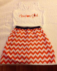 Clemson Girl!