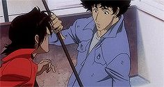 Cowboy Bebop The Movie Anime Nerd, Anime Manga, Cowboy Bebop Tattoo, See You Space Cowboy, Samurai Champloo, Walker Evans, Space Cowboys, Smooth Jazz, Animation Reference