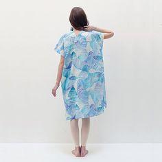 Nani Iro Japanese sewing pattern tunic dress by MissMatatabi