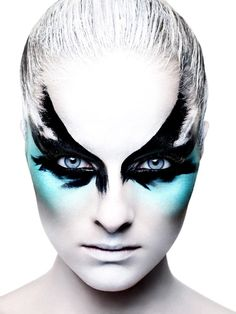 Rankin Photography Rankin photography is always interesting, I especially like t. Rankin Photography Rankin photography is always interesting, I especially like this image though be Bird Makeup, Fx Makeup, Makeup Cosmetics, Beauty Makeup, Mask Makeup, Mermaid Makeup, Dragon Makeup, Makeup Monolid, Makeup Wings