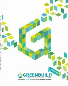 Greenbuild Expo 2010 Ad. Chicago. Generation Green. building blocks, sustainability, large typography, Qbert (3)