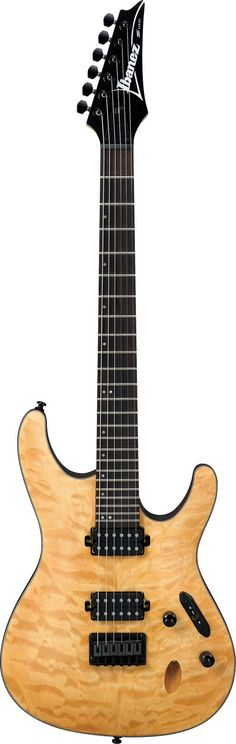 New 2016 Ibanez S621QM Electric Guitar The Ibanez S621QM is a super comfortable, light weight mahogany metal machine that can be shouldered for hours on end. The S series has been offering up cutting