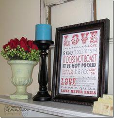 Love is... Printable