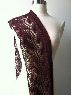 Ravelry: #154 Gossamer One-Ball Lace Scarf pattern by SweaterBabe