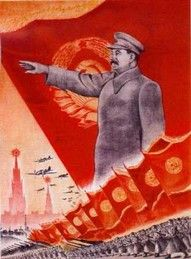What does this source tells you about Stalin? Ans: This source shows us that Stalin was a powerful leader and he rules over the soldiers.