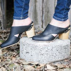 Our Juanita Mule is a good shoe to have when switching your wardrobe from summer to fall styles. Available now at www.fortressofinca.com