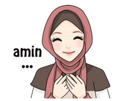 Love you Allah bless protect the World. Cartoon Girl Images, Cartoon Pics, Happy Day Quotes, Mom Quotes, Muslim Greeting, Cute Muslim Couples, Islamic Cartoon, Anime Muslim, Hijab Cartoon