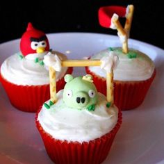 Angry-angry birds party