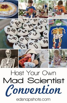 Host Your Own Mad Scientist Convention. Got a mad scientist in your house? He or she will love having friends over to do science experiments and enjoy fun science party food.