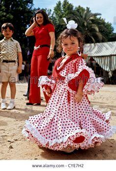 8329. Fiesta time, Seville, Spain, Europe Stock Photo