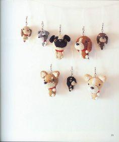 Собачки амигуруми крючком. Схемы - Handmade-Paradise