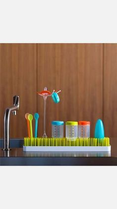 Patch Countertop Drying Rack by Boon Camping Accessories, Baby Accessories, Cheap Camping Gear, Practical Baby Shower Gifts, Gadget Gifts, Utensil Holder, Outdoor Cooking, Clean Design, Holiday Gifts