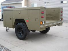 My newest project: The Bug Out Trailer (Pic's) - Zombie Squad Truck Bed Trailer, Bug Out Trailer, Camping Trailer Diy, Work Trailer, Teardrop Camper Trailer, Off Road Camper Trailer, Truck Camping, Camper Trailers, Trailer Build
