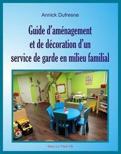 je suis auteure du Guide d'aménagement et de décoration d'un service de garde en milieu familial. Je collabore aussi mensuellement en écrivant des articles sur le réputé site de educatout.com. :)