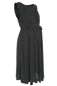68f723a70bc Buy Black And White Spot Dress (Maternity) from the Next UK online shop  Maternity