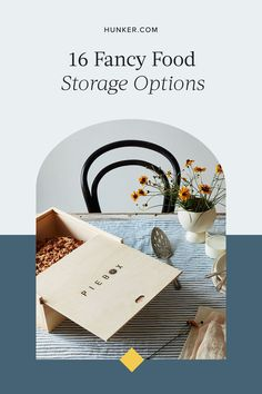 These 16 gorgeous storage options will completely revamp the look and feel of your culinary space, making storing and organizing your food almost as fun as eating it. #hunkerhome #foodstorage #foodstorageideas #cutefoodstorage