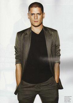 Wentworth Miller - GQ Style Magazine
