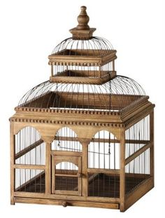 French inspired birdcage