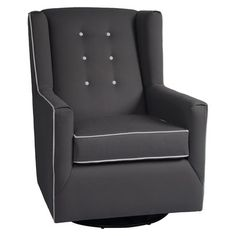 Little Castle Charleston Swivel Glider - Solid