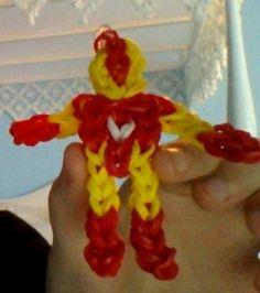 Iron Man Rainbow Loom